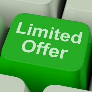 Limited Offer Key Showing Deadline Product Promotion