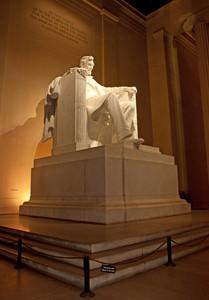 Lincoln Memorial Vertical