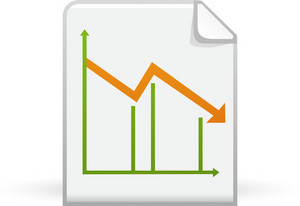 Line Chart On Paper 2 Lite Application Icon