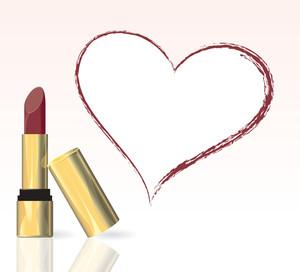 Lipstick. Vector.
