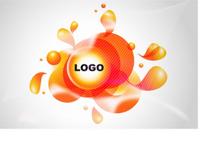 Liquid Vector Logo Spot