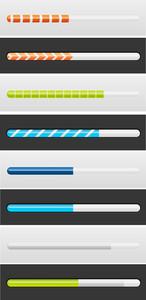 Loading Web Icons Vectors