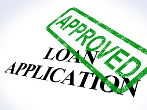 Loan Application Approved Shows Credit Agreement