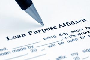 Loan Purpose Affidavit