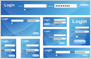 Login Box Vectors