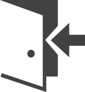 Login Glyph Icon