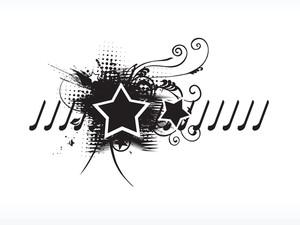 Logo Floral Star Wallpaper
