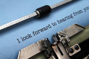 Look Forward Letter