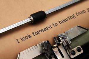 Look Forward To Hear You