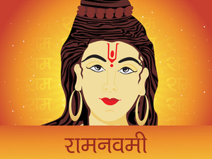 Lord Rama Face Background
