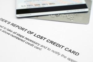 Lost Credit Card Report