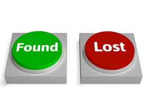 Lost Found Buttons Shows Hidden Or Discovery