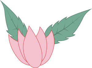 Lotus Flower Leaves