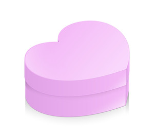Love Heart Box Vector