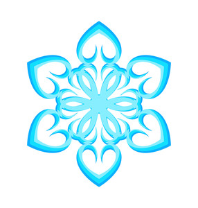 Love Hearts Snowflake