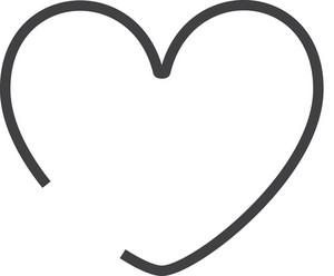 Love Minimal Icon
