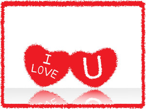 Love Notes On White Background