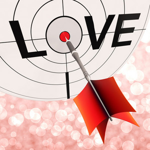 Love Shows Commitment Between Lovers And Couples