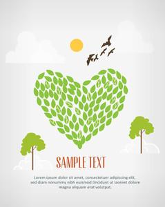 Love The Environment (editable Text)