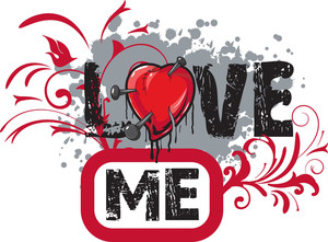 Love Vector T-shirt Design