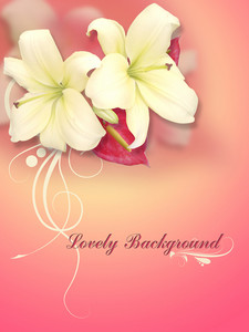 Lovely Greeting Card Background