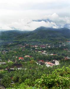 Luang pra bang from above