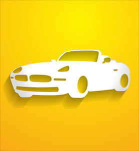 Luxury Car Vector Shape