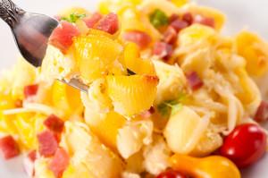 Macaroni On Fork
