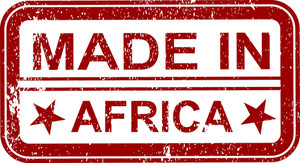 Made In Africa Stamp