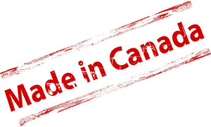 Made In Canada Grunge Stamp