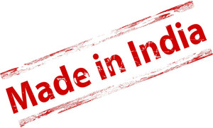 Made In India Grunge Stamp
