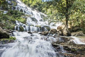 Mae Ya waterfall Chiang Mai, Thailand.