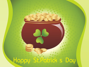 Magical Earthenware For St. Patrics Day