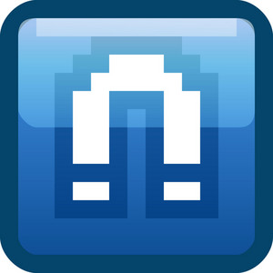 Magnet Blue Tiny App Icon