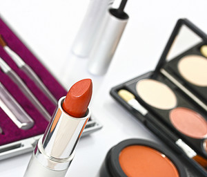 Make Up Set For Making Up A Woman's Face