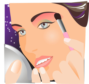 Make-up Vector.