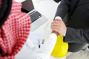 Making a successful deal for building at Middle east