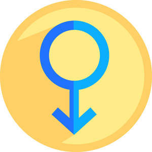 Male Gender Sign