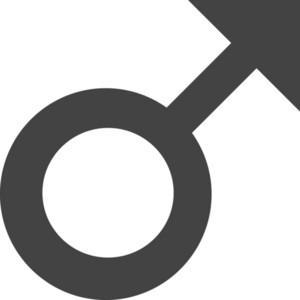 Male Glyph Icon