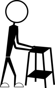 Man Holding A Table