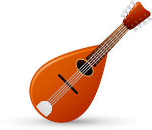 Mandolin Instrument Lite Music Icons