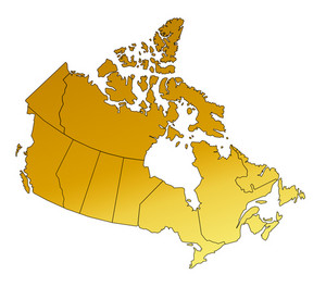 Map Canada