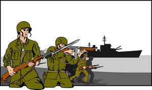 Marines Attacking