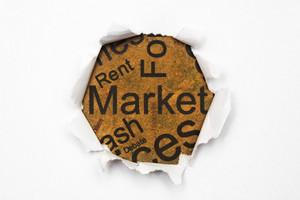 Market Paper Hole