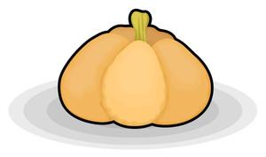 Market Pumpkin Vector