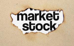 Market Stock On Paper Hole