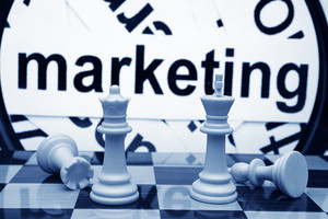 Marketing And Chess Concept