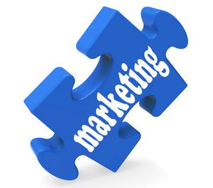 Marketing Piece Means Advertising And Strategy
