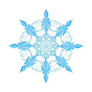Marriage Floral Snowflake