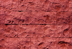 Marsala stone wall texture background